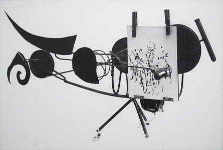 Jean Tinguely, Meta-Matic No. 8
