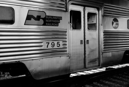 Burlington Northern Railroad, Chicago Regional Transportation Authority, Chicago, Illinois