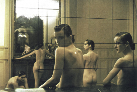 Five Girls in a Room in Pigalle, Paris, VOGUE Italia