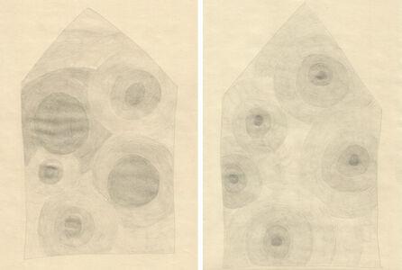 Herz Häuser (set of 2 drawings)