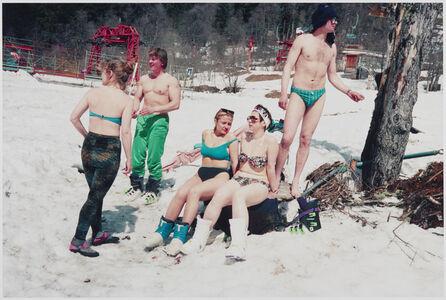 Skiing in Caucasus, Georgia