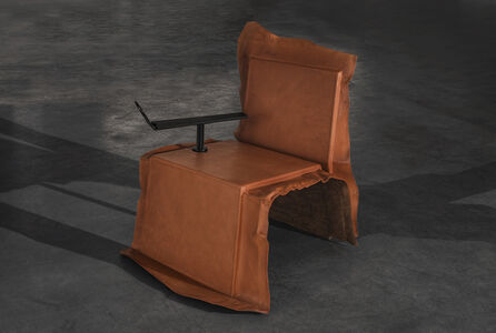 Reading Chair with Armrest and Stand
