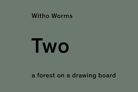 two; a forest on a drawing table. From the 1 two tree project.