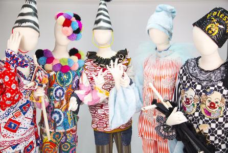 Knitty Naughty Clown Costumes