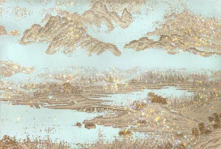 ARTIFICIAL LANDSCAPE- Golden Picture