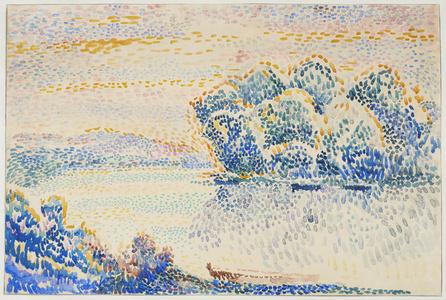 Paysage à la rivière (Landscape with River)