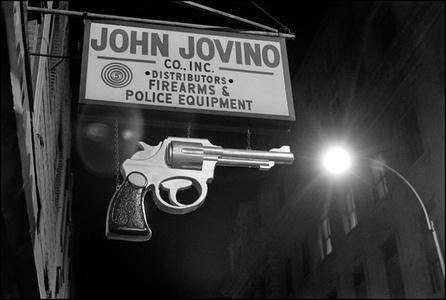 Gun Sign NYC