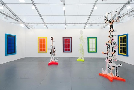 Almine Rech at Frieze NY 2014