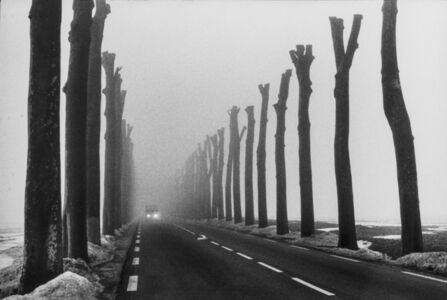 Winter Near Paris, France