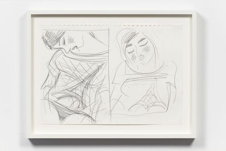 Untitled (Two Drawings)