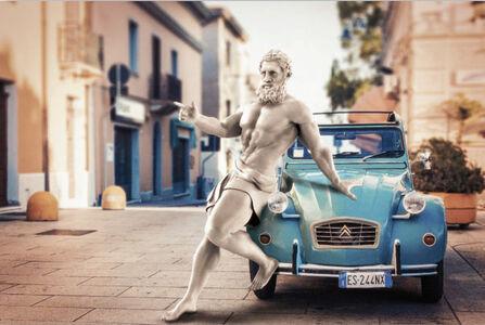 Hercules Blue Car