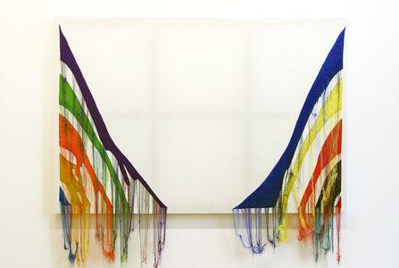Abstract Weave - Morris Louis, Delta Gamma 1960