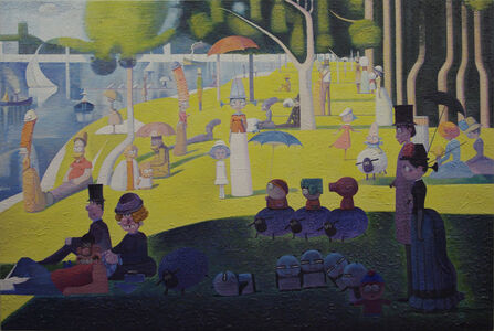 Gathering in la Grande Jatte