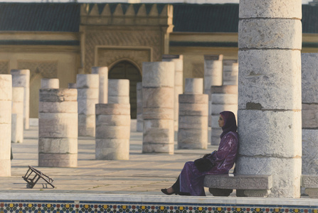 Contemplative Encounter of Absence   -Casablanca, Morocco