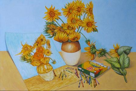 Sun Flowers x 2