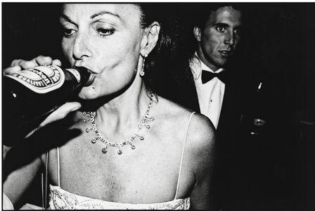 Diane von Furstenberg, Venice, Italy, 1991