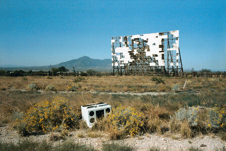 Abandoned Drive-in, Texas