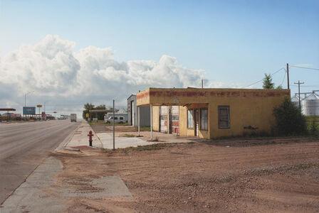 Panhandle Service Station, Texline, TX