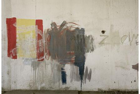 """Institut La Llauna, Carrer Sagunt, Badalona, from """"Las paredes hablaron"""" series"""
