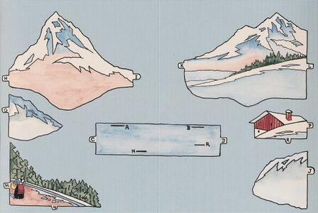 Aplaste el relieve de Suiza y calcule la superficie así obtenida.