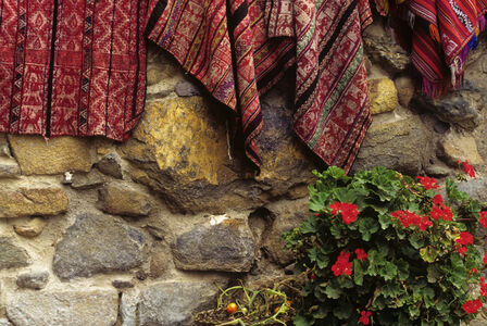 Flowers and  Textiles
