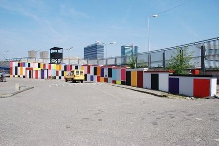 Wall Painting No. 199 — Blocks
