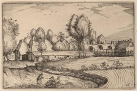 Road along a Field