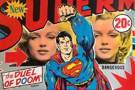 Double Trouble Marilyn & Superman