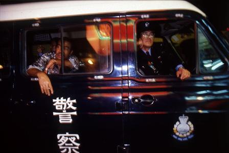 Police Van, Wan Chai