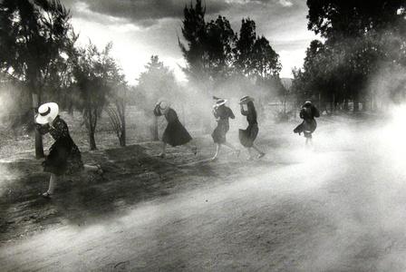 Dust Storm, Durango Colony, Durango, Mexico