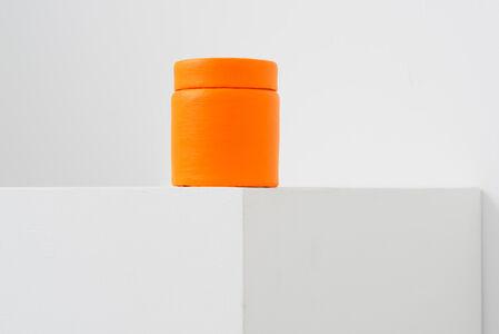 Paint Can _Flourescent Orange-Yellow