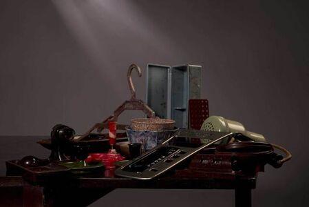 Still Life with Desk Calendar and Coathanger [AIBDC 313, CR, 191, Shelf 6 of 7, 3kg]