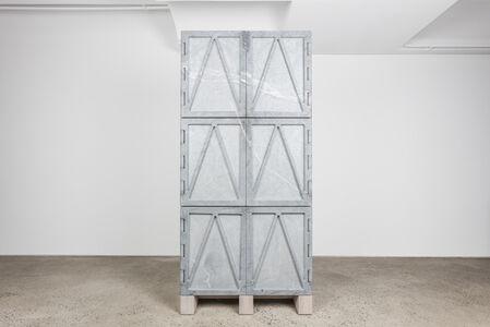 """Relief Stone Cabinet"""