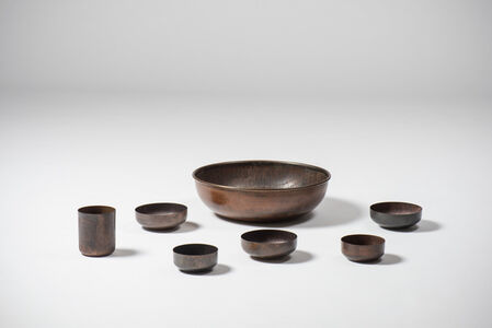 Set of bowls and a cup