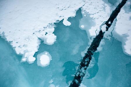 Breaking Ice, 90 North, North Pole