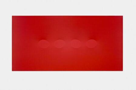Quattro ovali rosso
