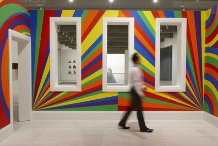 Sol LeWitt: Your mind is exactly at that line
