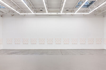 25 paintings (Installation view)