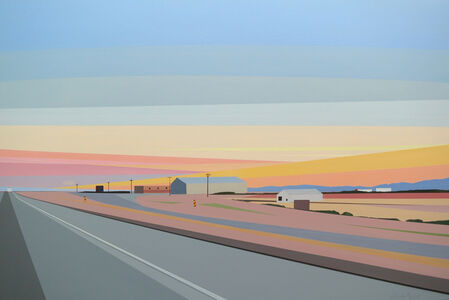 Sunset Near El Paso