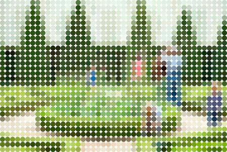 Dot Landscape XC1116