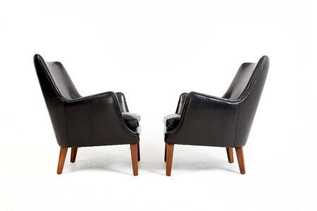 Arne Vodder Pair of Easy Chairs