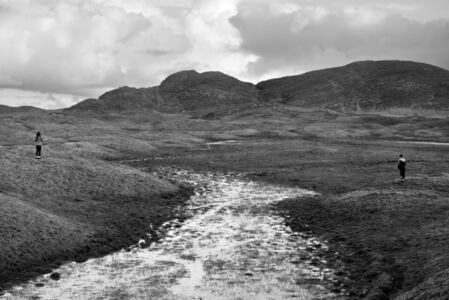 Looking Towards Sandray, from The Vatersay Series