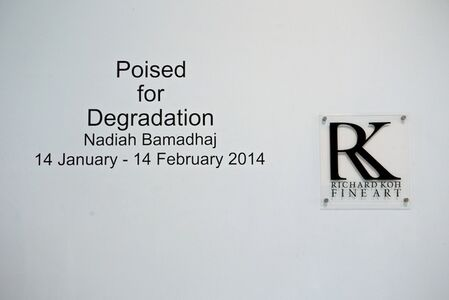 Nadiah Bamadhaj: Poised for Degradation