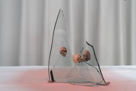 Skull and Glass Triangle