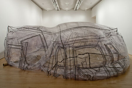 """A Sac of Rooms All Day Long, Installation view """"Sensate: Bodies and Design"""""""