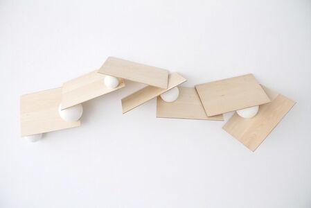 Untitled, serie Partitura horizontal #1
