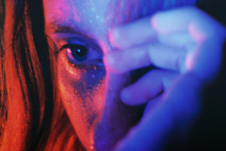 Petra Collins, Untitled #1 (24 Hour Psycho) Digital C-print. 65 x 43 inches. Edition of 2.