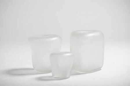 Canneto Laguna - Cristallo glass vases