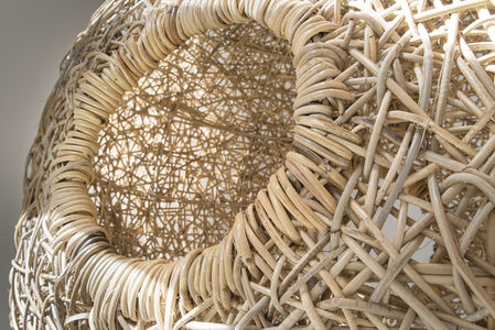 Custom Hanging Nest Sculpture.