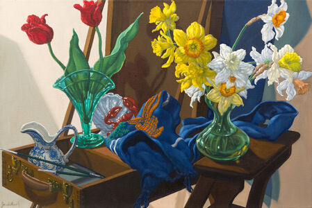 Still Life with French Easel